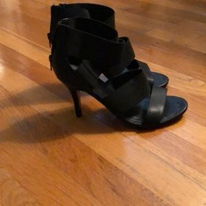 Woman's strappy heels